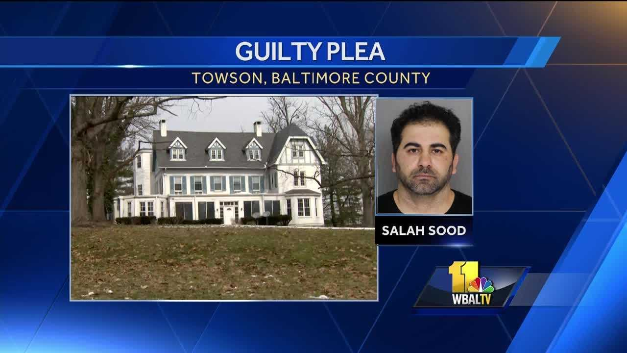 A man pleaded guilty in an elder care neglect case in Towson. A Baltimore County Circuit Court judge sentenced Salah Sood to two years and two days in prison on state charges of neglect and operating an assisted-living facility without a license.