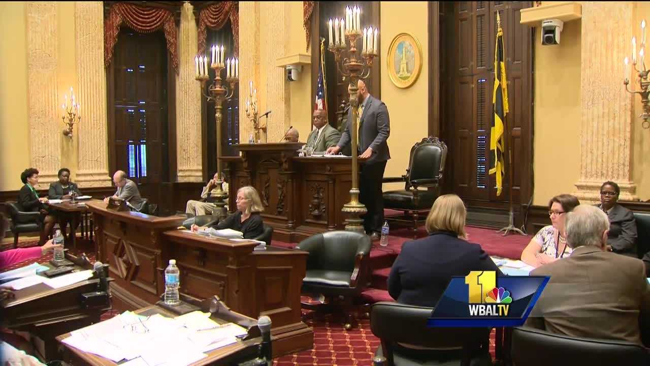 A bill that would raise Baltimore City's minimum wage to $15 an hour by 2022 received a favorable recommendation Monday evening. The bill was recommended favorable with amendments for a third reader, which is when the vote for final passage will take place. Seven council members voted yes, four voted no, three abstained and one was absent.