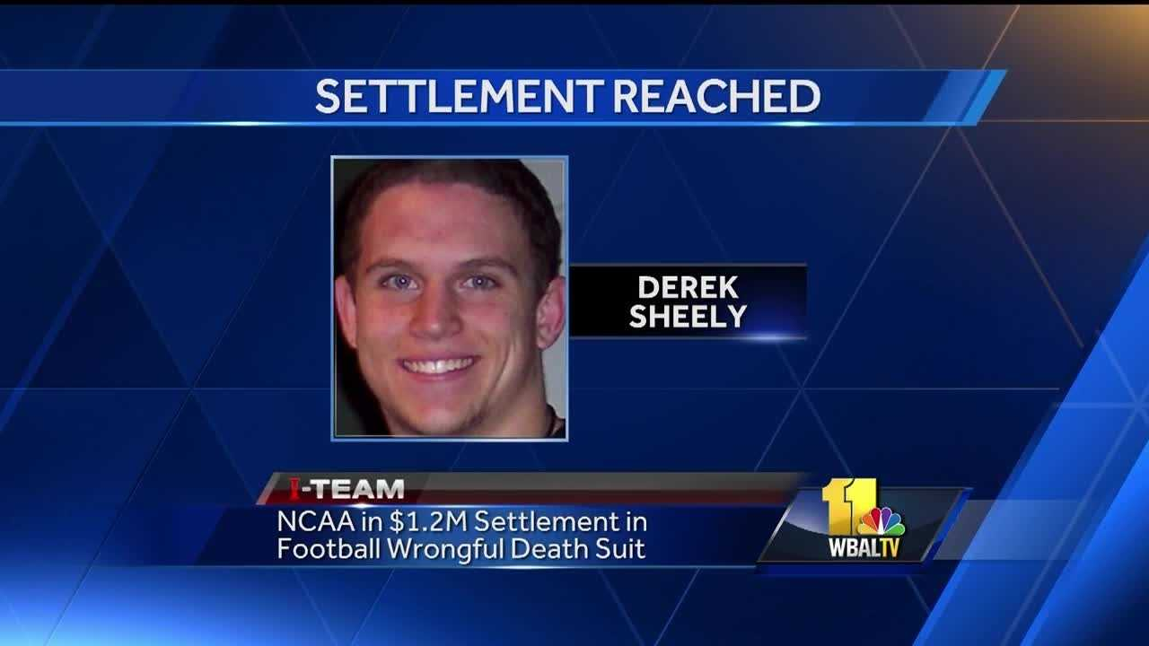 The NCAA and several co-defendants reached a landmark $1.2 million settlement Monday with the parents of a Frostburg State University football player who died from a head injury he suffered during a practice in 2011.