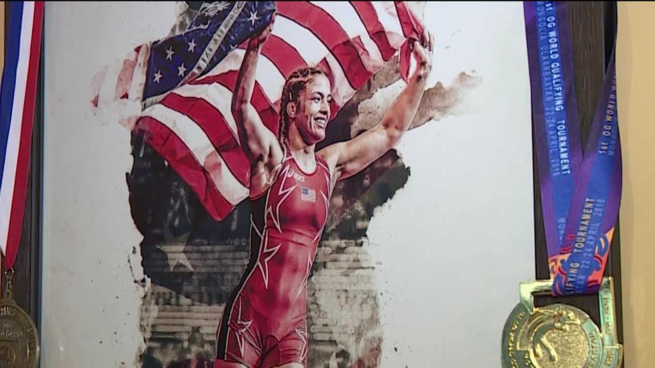 Helen Maroulis is getting ready for her first Olympics. But getting to represent Team USA is just part of the story of the 24-year-old Rockville woman. Her parents, Paula and John Maroulis, said their daughter is a trailblazer as a member of the U.S. women's wrestling team.