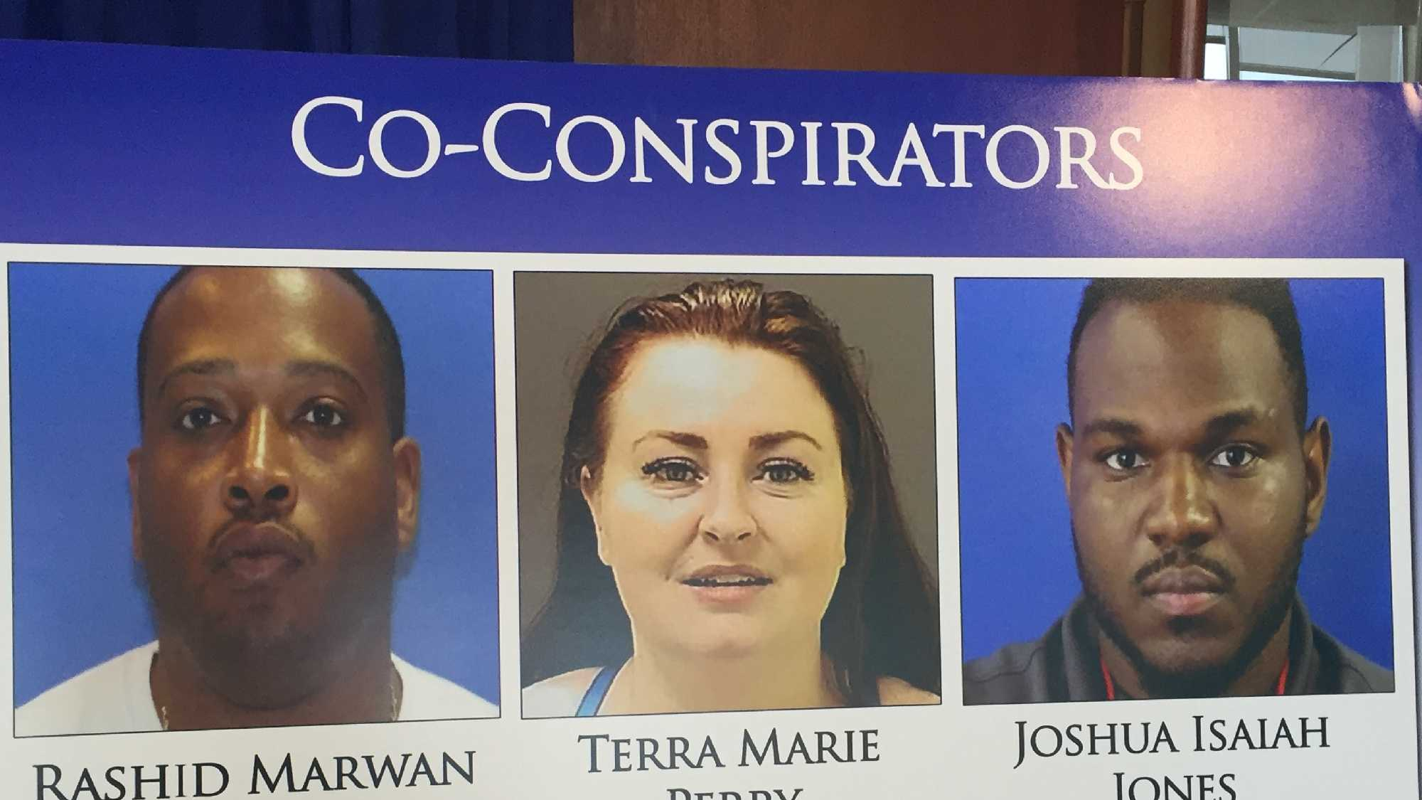 Three members of a multi-jurisdictional Maryland-based human trafficking enterprise have been indicted by a grand jury, officials said Tuesday.