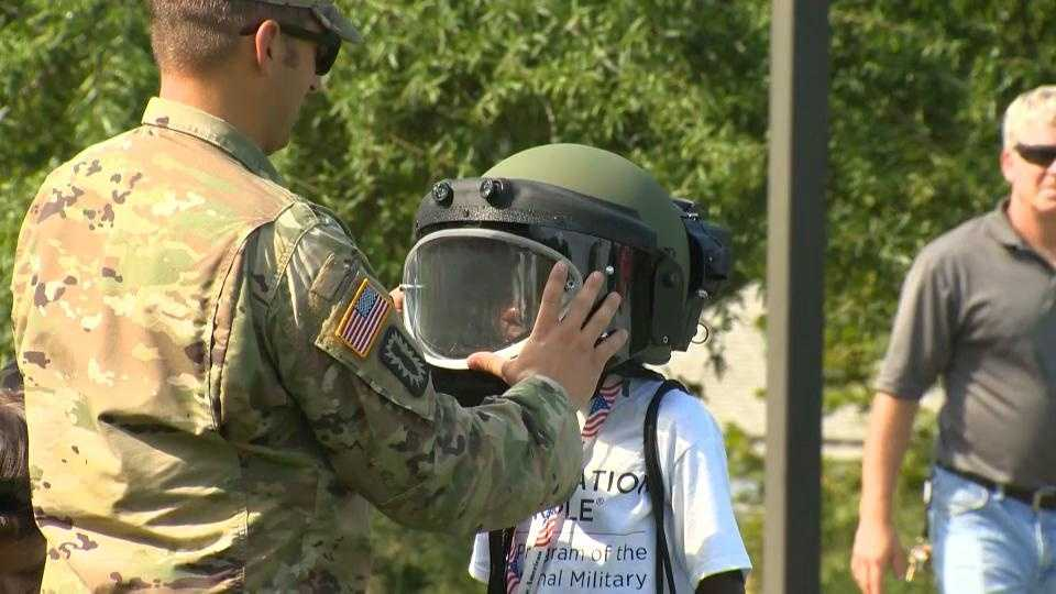 Being at camp is where friends are made and bonds are formed. But the children at Operation Purple Camp in Cecil County already share a unique bond.