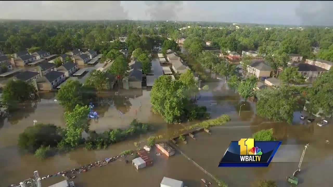 Residents in many Louisiana communities are just starting to assess the damage as the flood waters begin to recede after the recent historic flood there. So far at least 11 people are dead and thousands more remain in shelters. Now, the Red Cross of the Greater Chesapeake Region is stepping in to lend a hand.