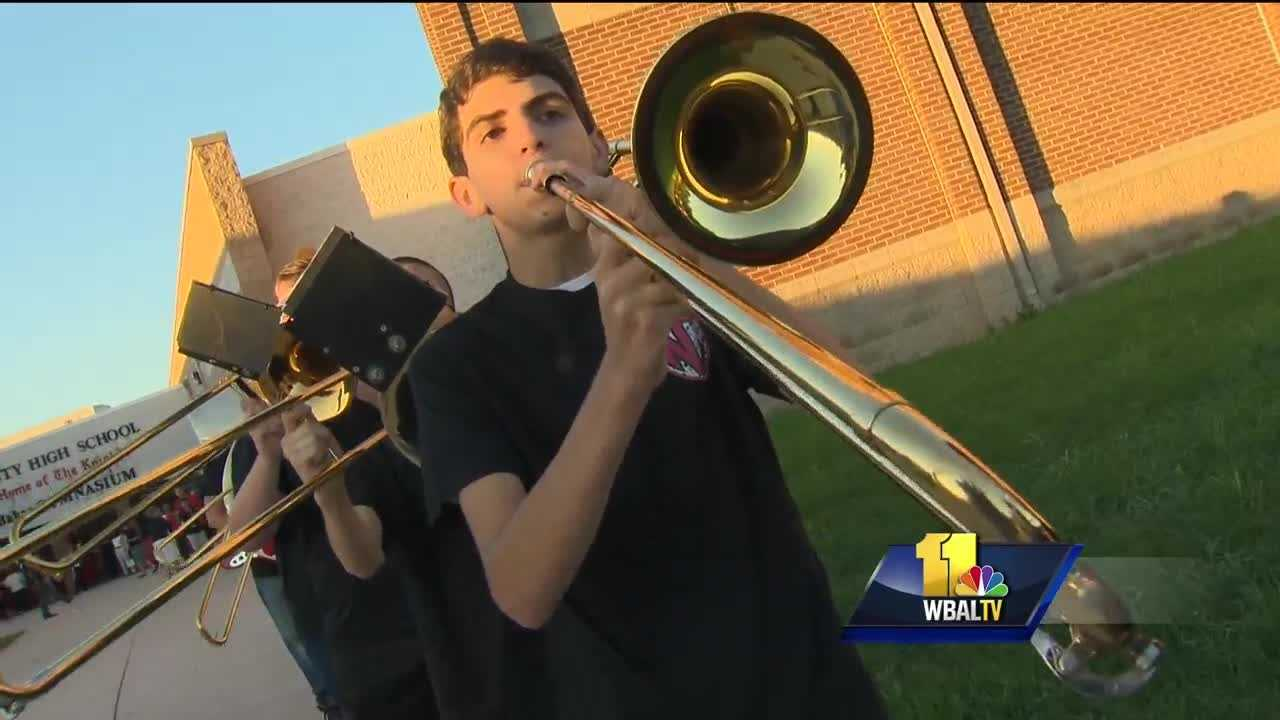 Summer is over for children in Anne Arundel County as Monday was the first day of classes for them. For those at North County High School, students were treated to a back-to school party.