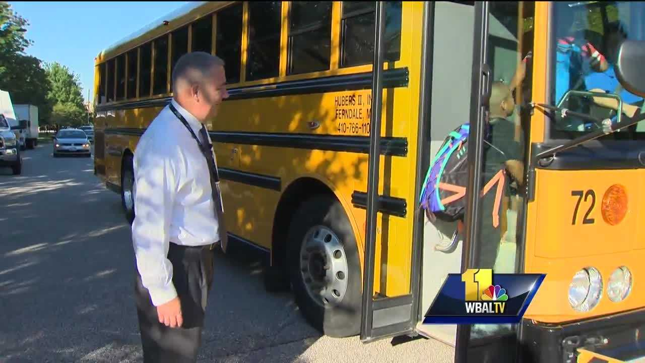 A record number of Maryland public school students are returning to class over the next week or so. Anne Arundel County is one of the first school districts to welcome students back on Monday.