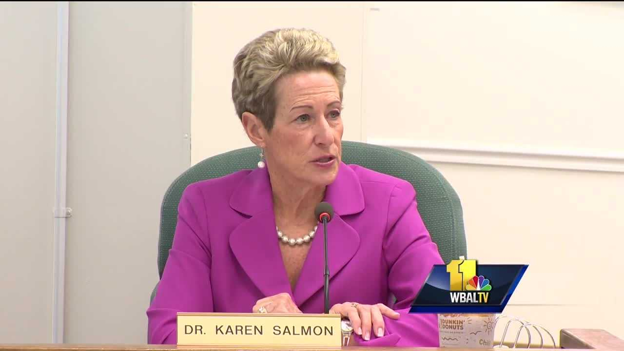 Dr. Karen Salmon, Maryland's new state school superintendent, said she's prepared to build onto an already successful program.