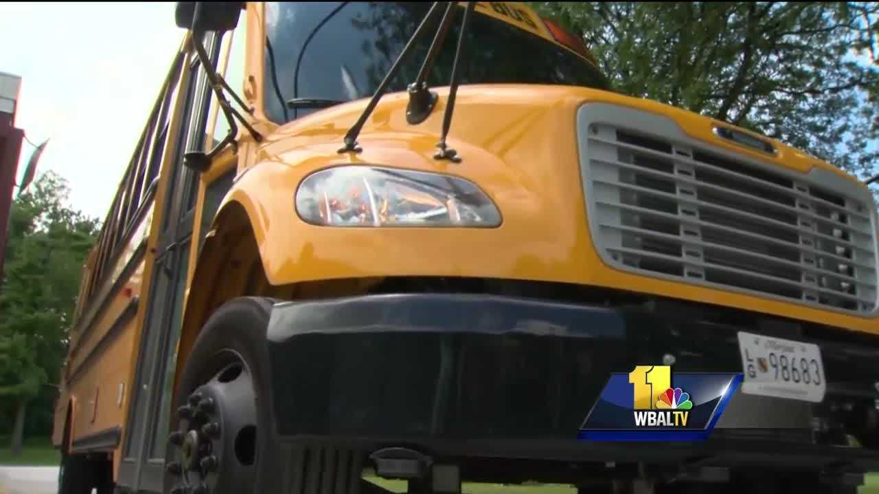 In Baltimore County, 112,000 students will march back to school Wednesday morning. More than 70,000 of them will get to school by bus, but some of those kids will find themselves waiting at a new bus stop and that has created a bit of a controversy.