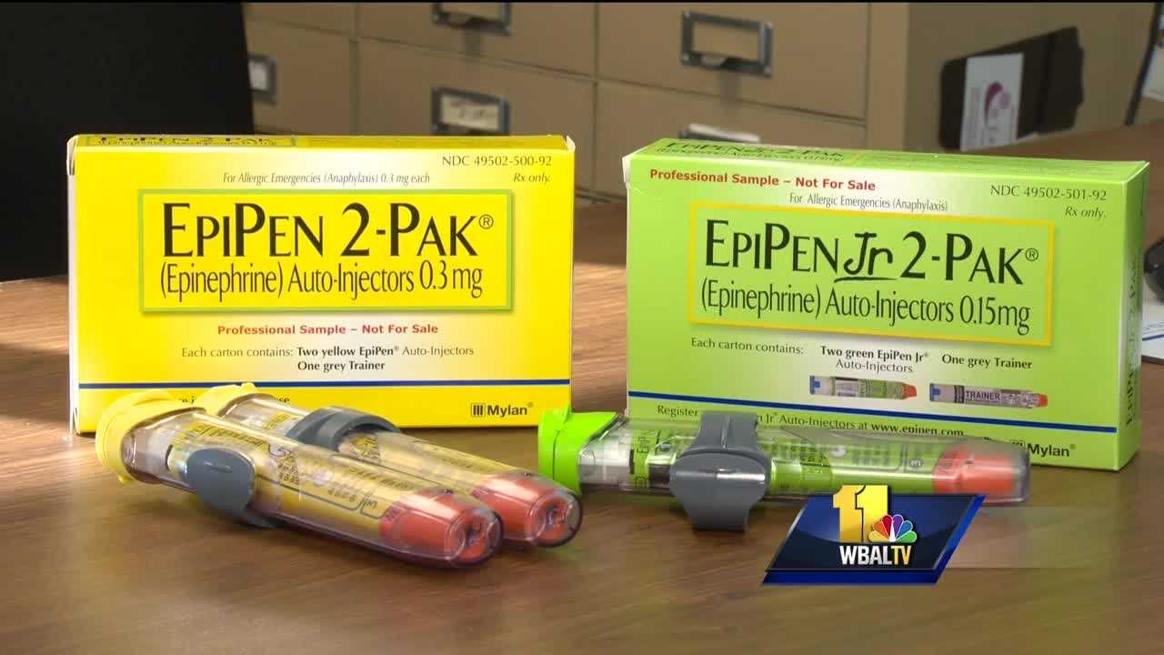 There is growing outrage and calls on Capitol Hill for answers about the dramatic rise in cost of EpiPens, the medication is used to treat a sudden and potentially-deadly allergic reaction.