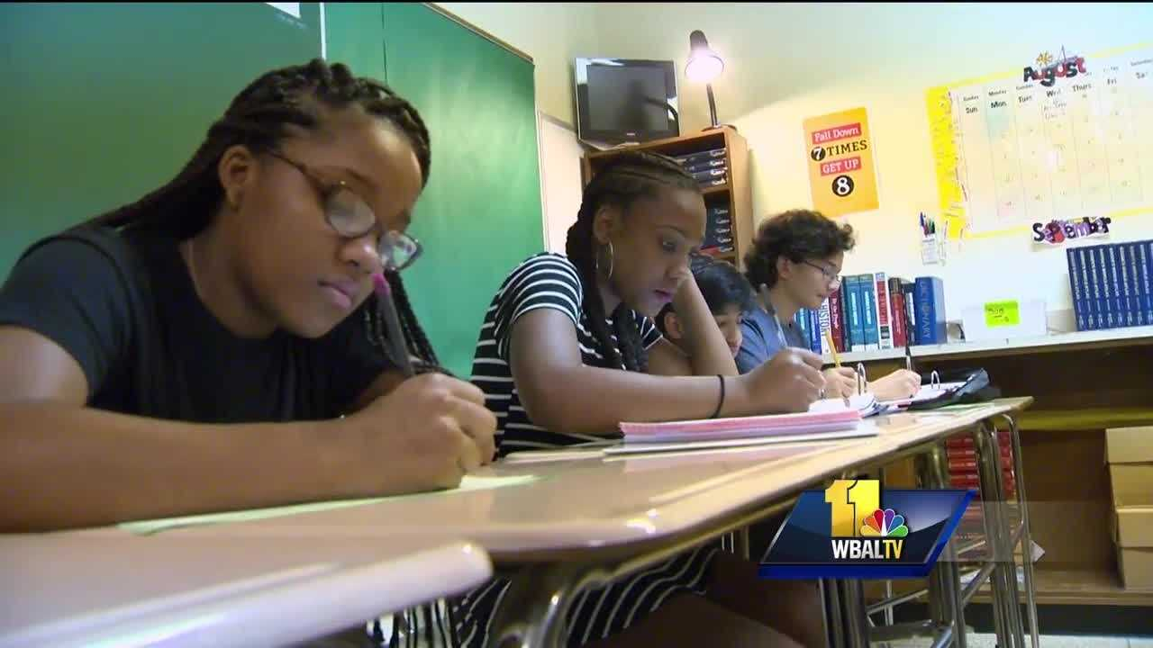 More than 100,000 students are headed back to school in Baltimore County. They met with some non-traditional changes, especially when it comes to their report cards.