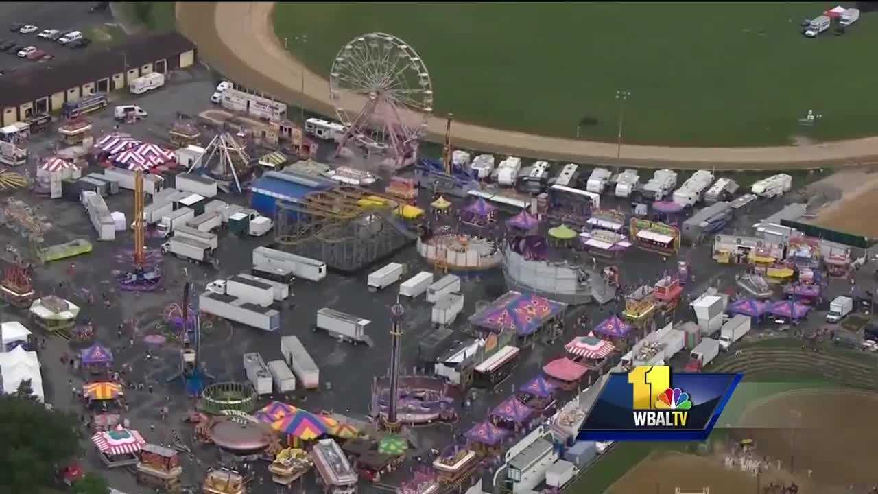 The Maryland State Fair officially opens Friday, but Thursday is Ridemania when people can ride all they want for one price. Fair officials assured everyone the rides are safe after a child died recently on a waterslide in Kansas and other reports of ride malfunctions in other states. Rides are typically the biggest attraction at any state fair. This summer has seen its share of accidents and death from some rides.