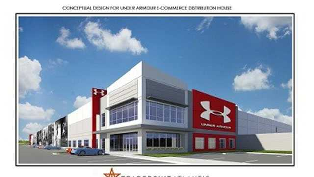 Under Armour is planning to open a new 1.3 million-square-foot distribution and warehouse facility which is expected to eventually bring 1,000 jobs to Baltimore County.