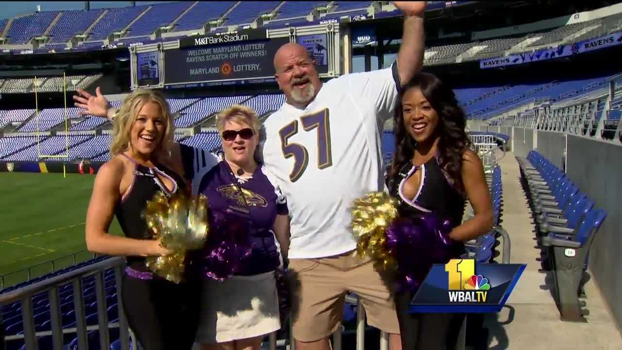 Several lucky Ravens fans will watch every home game this season at M&T Bank Stadium thanks to the Maryland Lottery, as My Lottery Rewards Ravens-themed drawings give losing tickets new life.