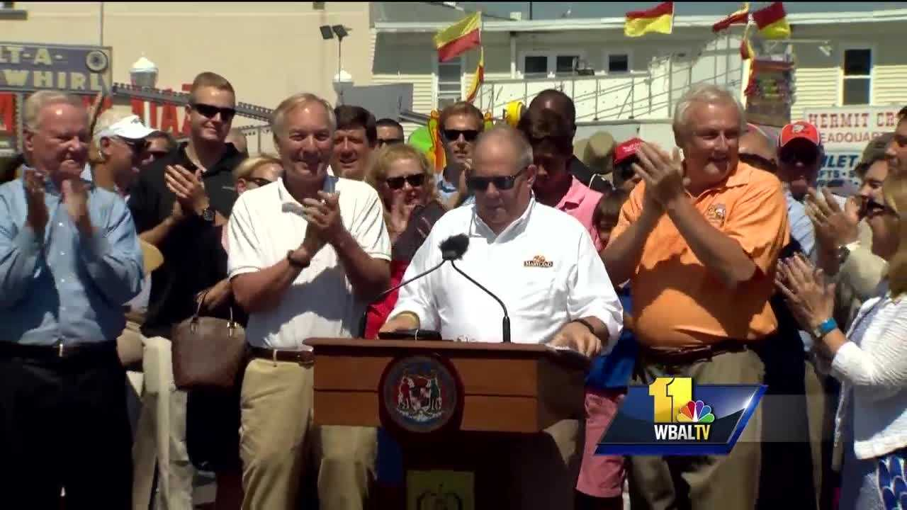 Gov. Larry Hogan has signed an executive order to start Maryland schools after Labor Day and end the year by June 15 beginning in the 2017-18 school year.