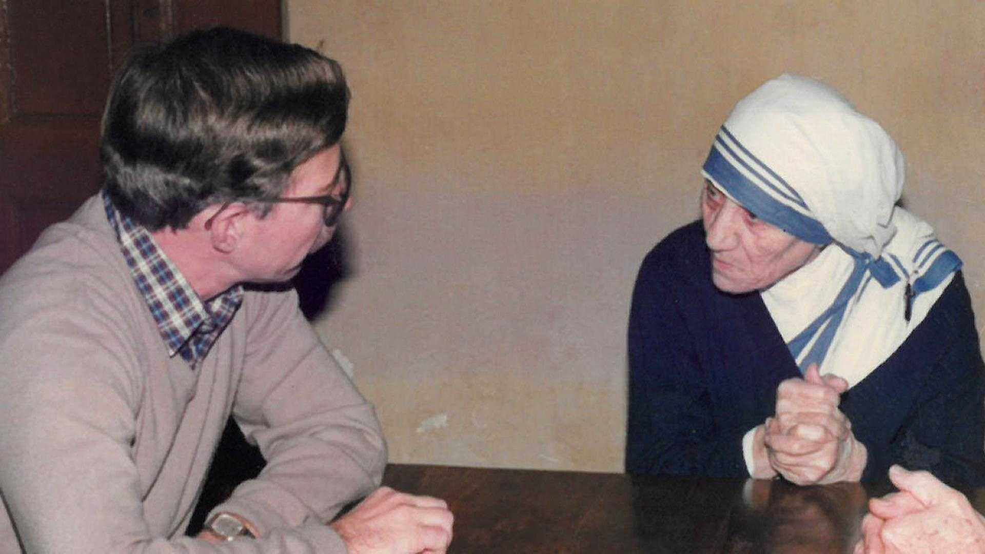 Catholic Relief Services' Jim DeHarpporte reflects on time he spent with Mother Teresa, who will be canonized as a saint on Sunday.