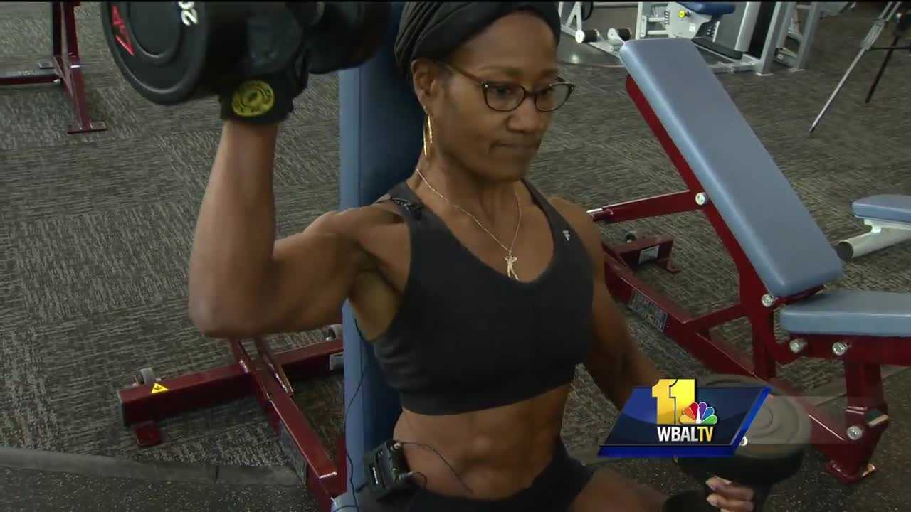 Debbie Bracy's day typically starts at 4:30 a.m. with a workout that covers every part of her body. But Bracy is not your typical morning lifter. She's a competitive bodybuilder.