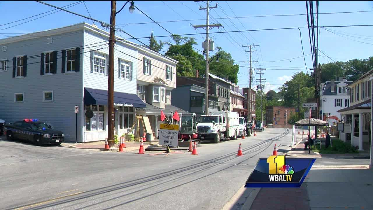 Ellicott City is showing signs of improvement after July's historic and destructive flooding. Portions of downtown Main Street are reopening, giving businesses and residents and chance to start rebuilding. But the process is far from complete.