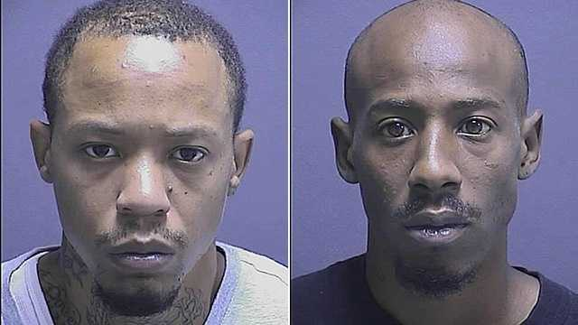 Timothy McNeal (left), Markus Fields (right)