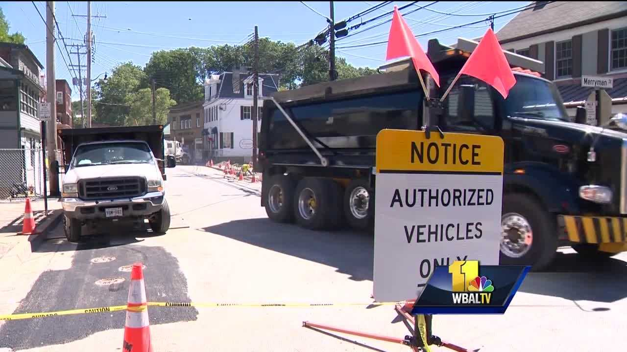 Howard County officials have opened another small portion of Ellicott City's historic Main Street. The section of Main Street between Court Avenue just west of Forrest Street is continuing to close periodically as crews continue making repairs and improvements. Howard County officials hope another 10 to 12 businesses can reopen as work continues along Main Street.