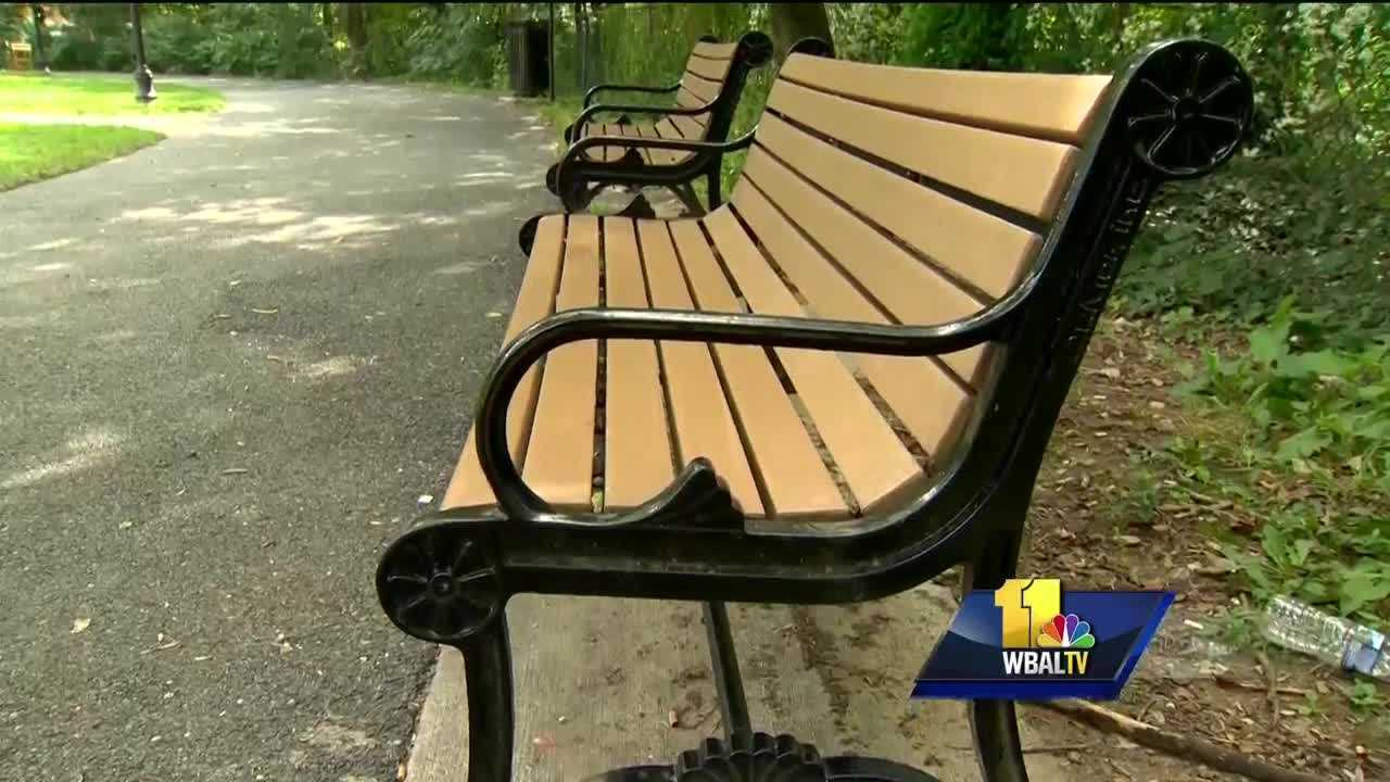 A 64-year-old man was stabbed during a robbery Monday evening in Baltimore, police said. Police said the victim tried to fight off the robbers around 5 p.m. at Wyman Park Dell on North Charles Street. The man's wallet and phone were taken. According to a police report, the victim was stabbed in the right arm and lower back as he was sitting on a park bench reading a book.