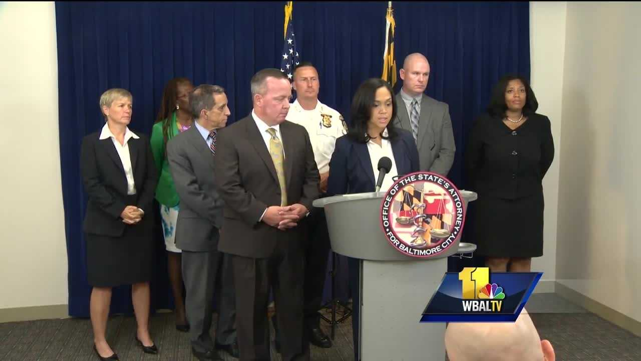 The Baltimore Police Department and Baltimore City State's Attorney's Office announced Wednesday a new partnership aimed at cutting down on violence. State's Attorney Marilyn Mosby and Police Commissioner Kevin Davis announced the creation of the Gun Violence Enforcement Division that will focus on targeting violent gun offenders.