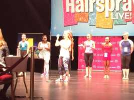 "Baltimore dancers making their case to be on ""Hairspray Live!"""