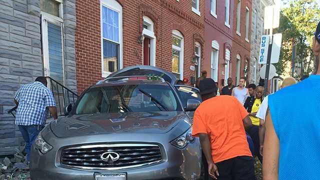 East Fayette Street crash