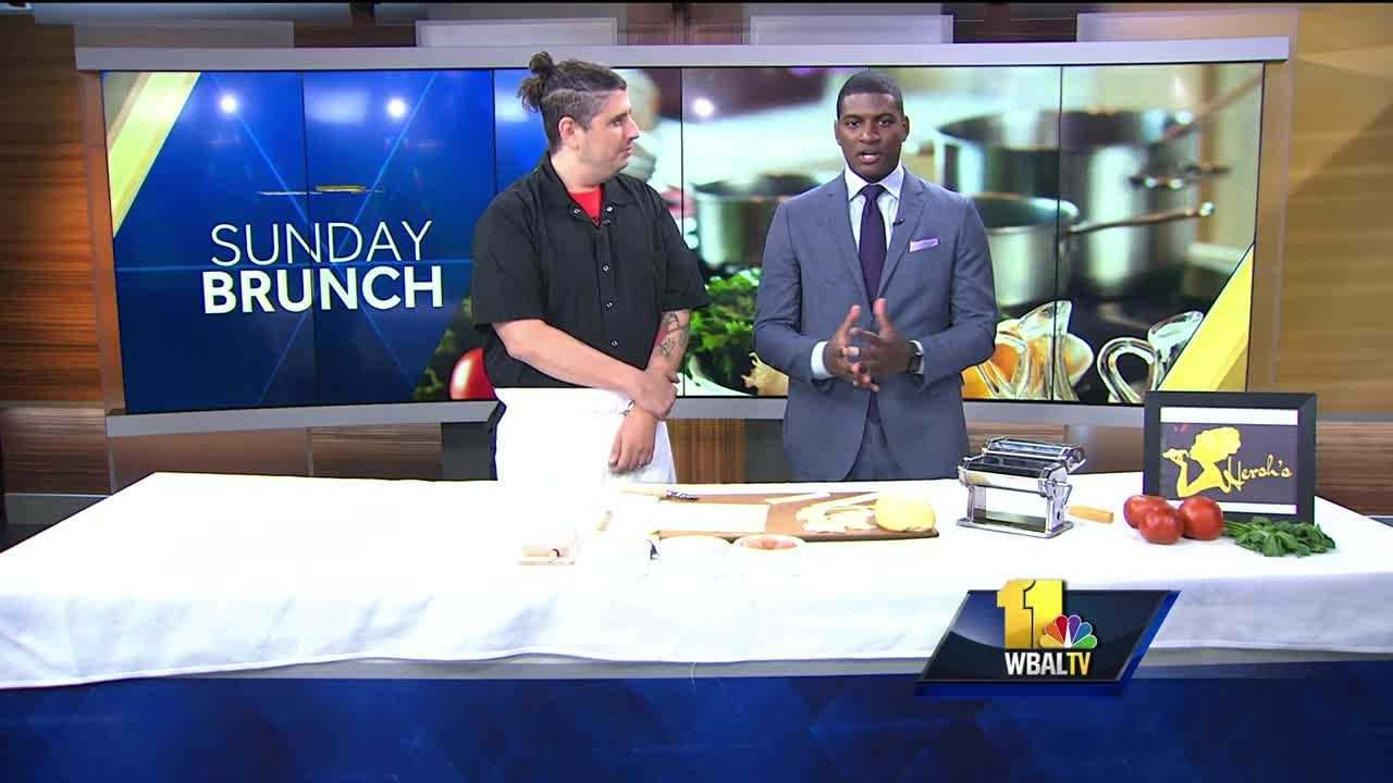 Sunday Brunch: Hersh's homemade pasta