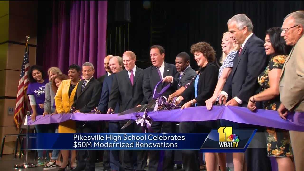 Pikesville High School ribbon cutting