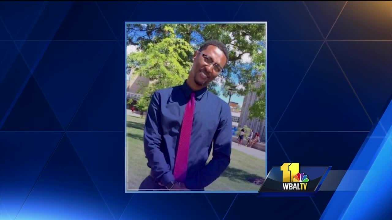 Family and friends gathered Wednesday to remember a Morgan State student who was fatally stabbed on Monday. City police are searching for a suspect and motive in the fatal stabbing of Marcus Edwards, 21, was killed in the 5400 block of Loch Raven Boulevard.