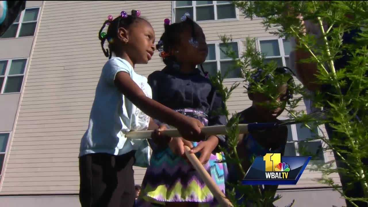 If you have a garden, you know how therapeutic it can be, and now residents of a shelter for women and children in east Baltimore are finding that out firsthand.