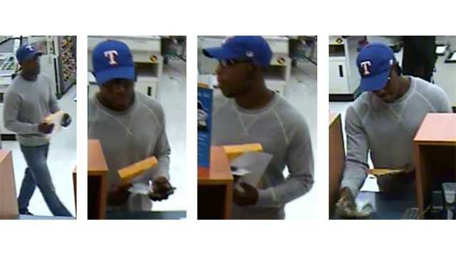Columbia bank robbery suspect