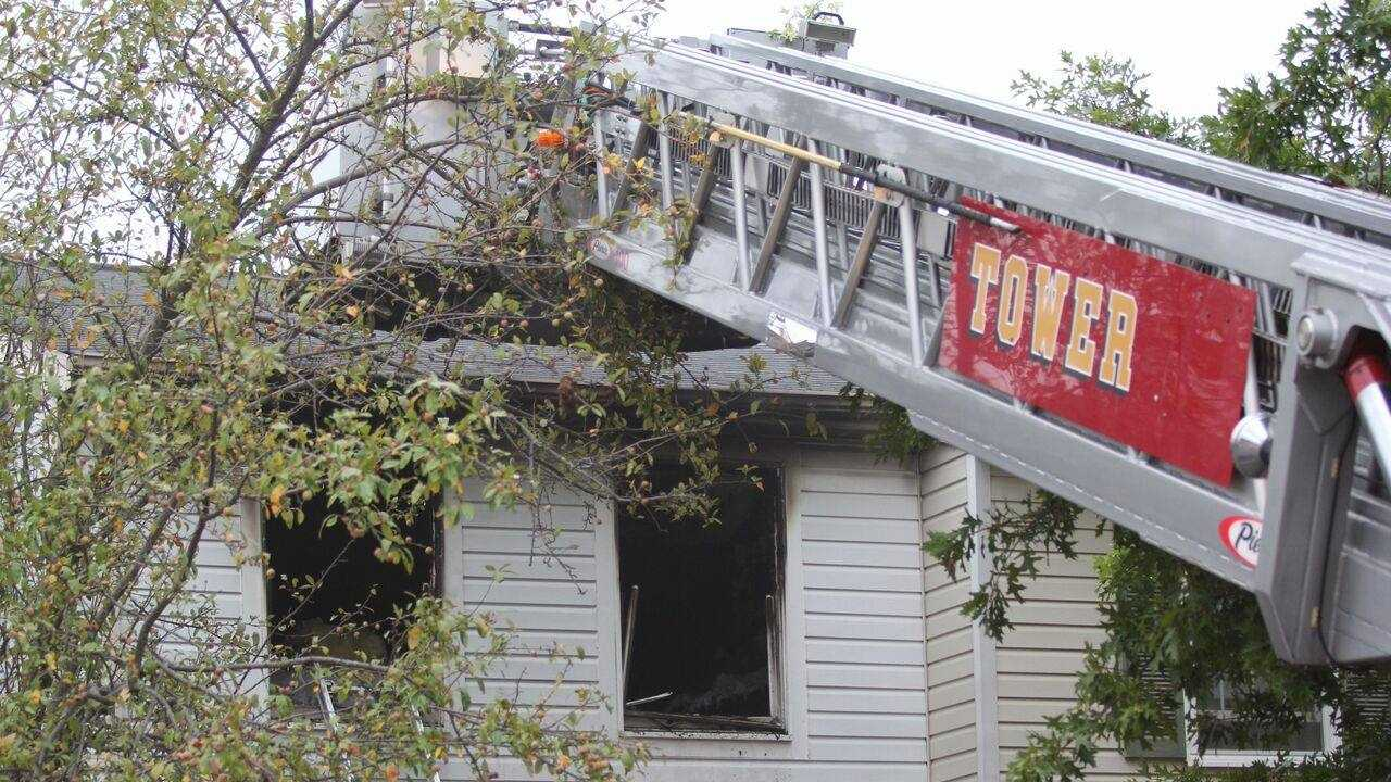 Elkridge townhouse fire