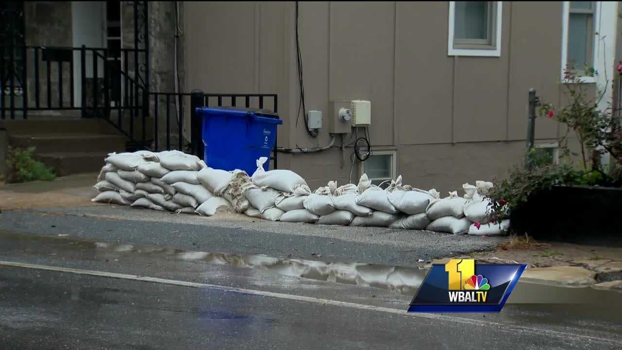 About three inches of rain have fallen in flood-prone Ellicott City since steady rain started Wednesday, and more is on the way. Despite another three inches of rain in the forecast, nerves have calmed some since Wednesday as drainage changes seem to be working, and so far there has been no flooding.