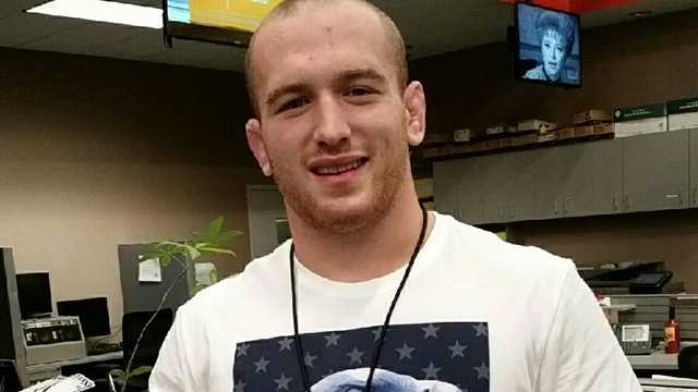 Olympic gold medalist Kyle Snyder