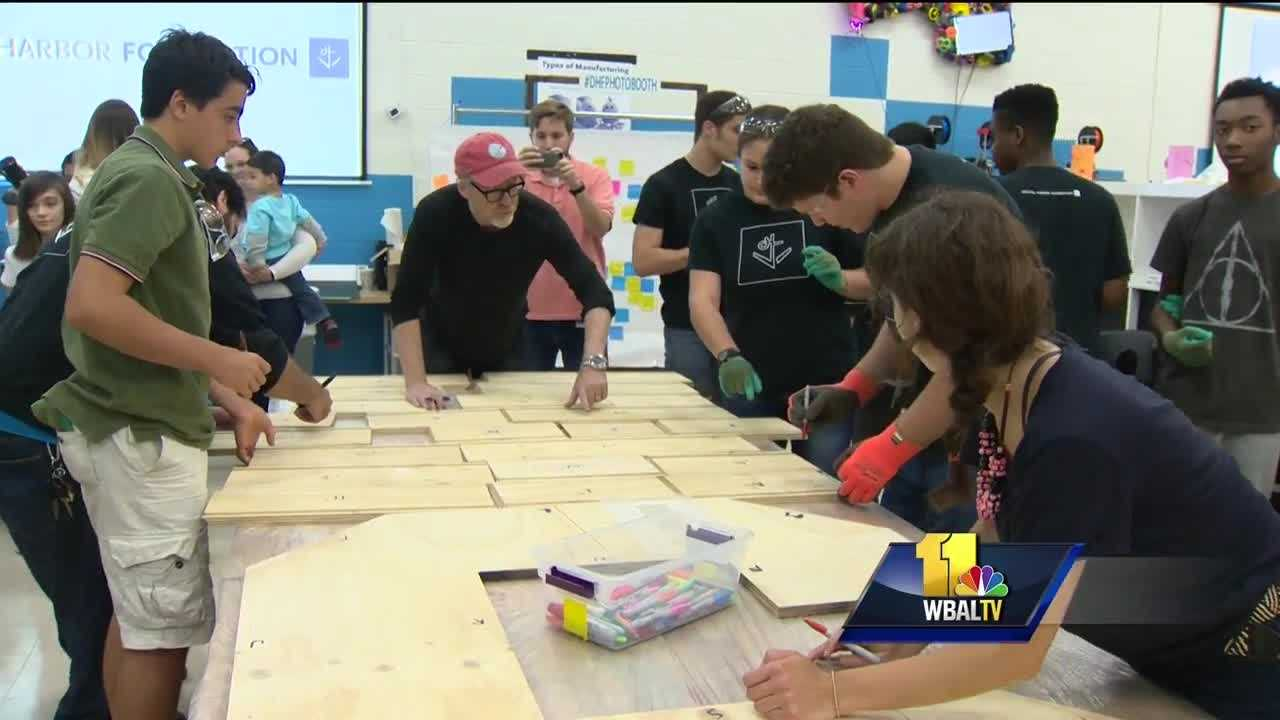 Baltimore students contribute to South by South Lawn