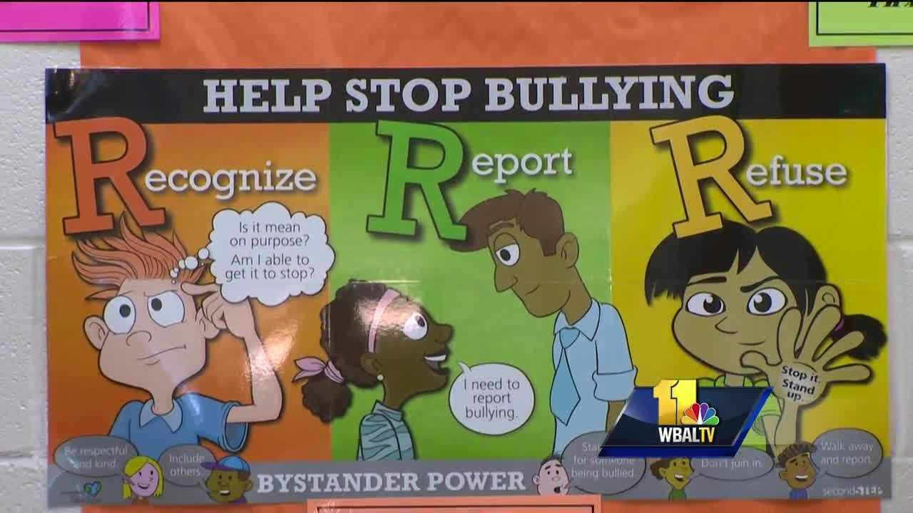 Bullying remains a hot topic across the nation as schools this month turn their attention toward prevention. October is National Bullying Prevention Month. The goal is to increase awareness among children of all ages, and that's exactly what's taking place this week in schools all across Baltimore County.