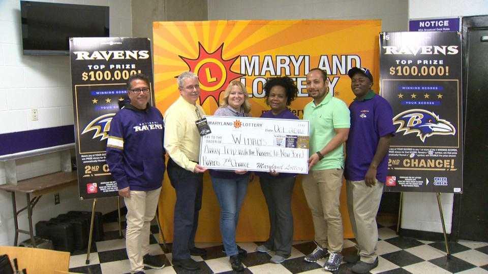 Ravens prize lottery winners