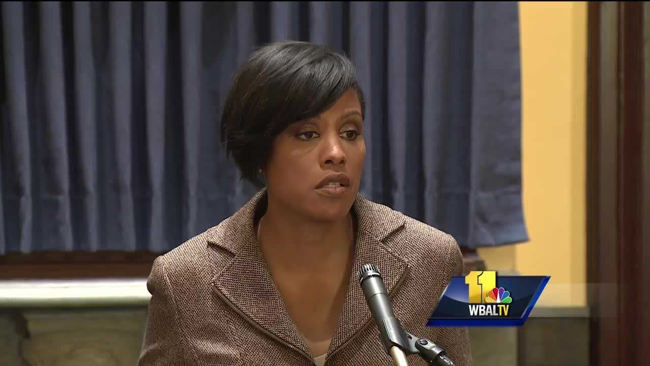 Mayor Stephanie Rawlings-Blake is asking Gov. Larry Hogan for $30 million to help Baltimore pay for police reforms mandated by the Department of Justice.
