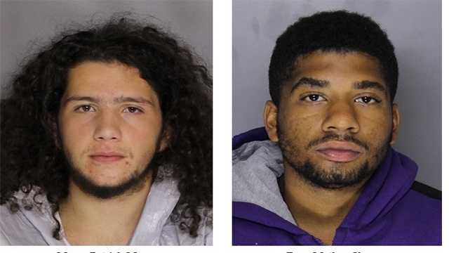 Marco Patrick Morra, 18, of the 600 block of Meyers Drive and Ryan Mathew Young, 20, of the 1400 block of Lafayette Avenue, have both been charged with attempted first-degree murder and related charges in connection with a Sept. 27 shooting in Catonsville.