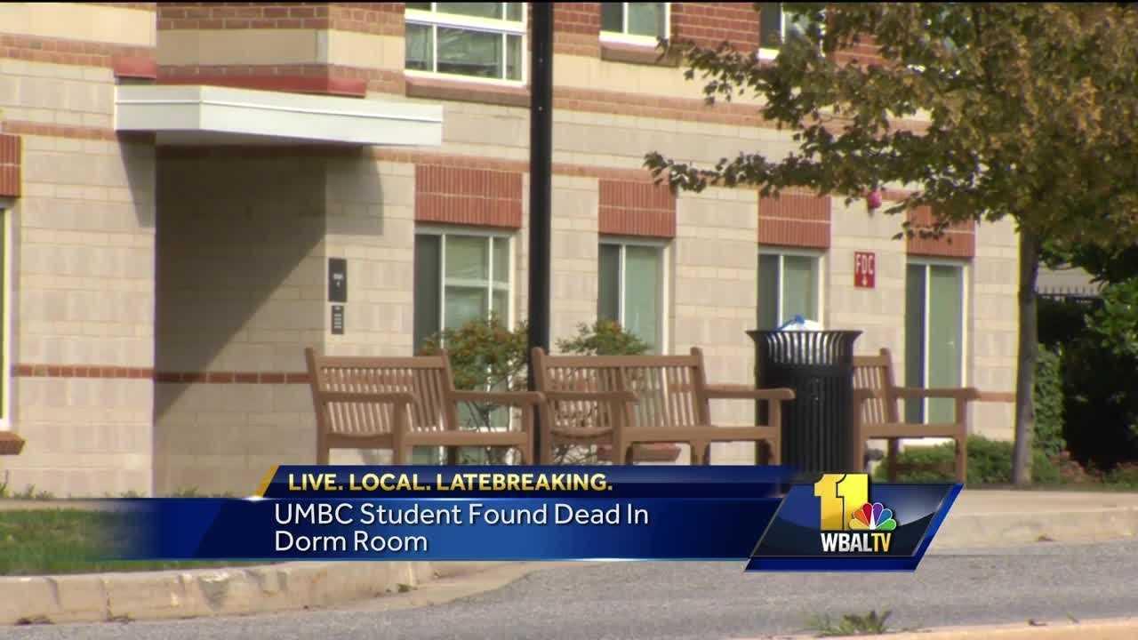 UMBC student found dead in dorm