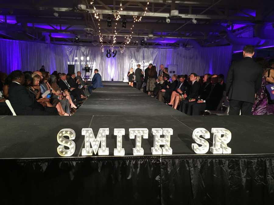 Baltimore Raven Steve Smith Sr. and his teammates strutted down the runway Monday night for a great cause. The veteran wide receiver hosted a fashion show to raise money for the House of Ruth and awareness for domestic violence victims. Local stores and designers provided the fashions.