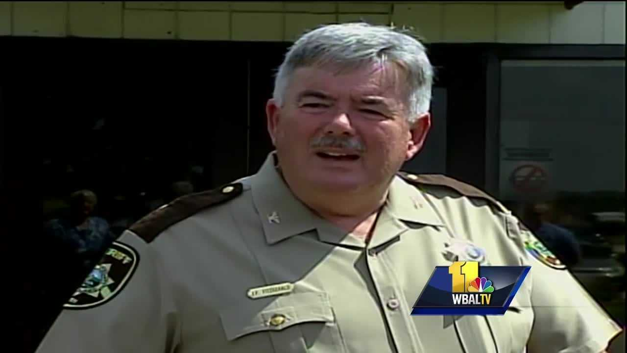 Howard County Sheriff James Fitzgerald resigns