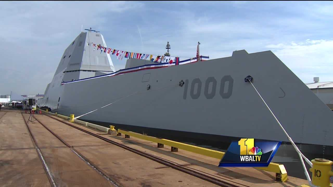 Navy's state-of-the-art ship wows visitors