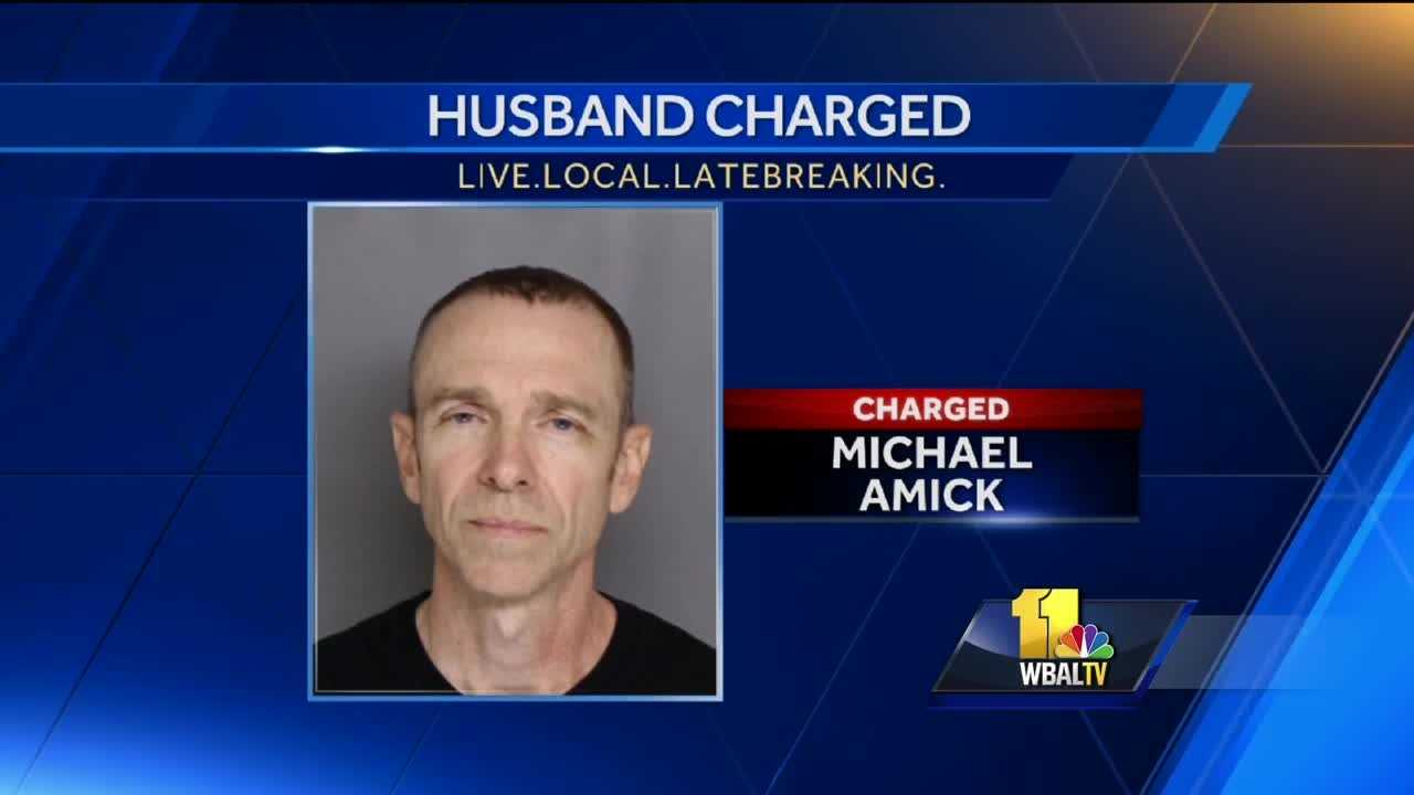 A Parkville man who reported his wife missing in September 2006 has been charged with her murder, police said. Michael Amick is accused of killing his wife, Roxanne. Amick moved to Hawaii after his wife's death, but advances in DNA technology helped police in their case.