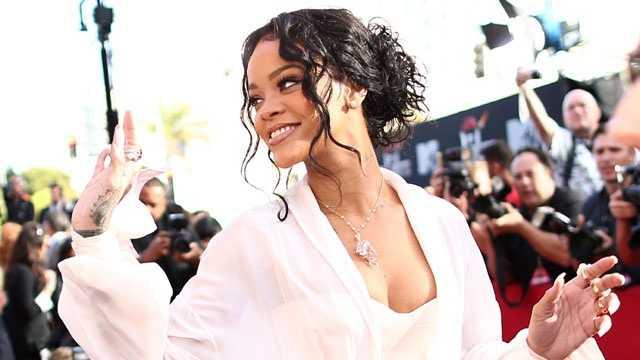 Most followed Rihanna