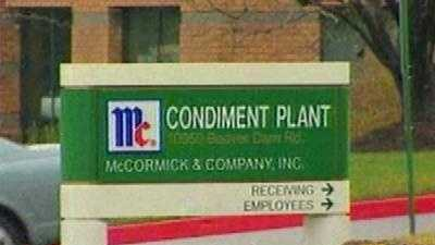 McCormick and Company sign - 5444503