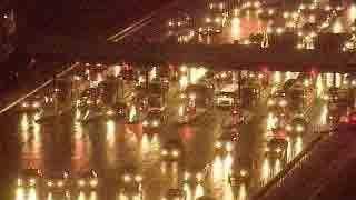I-895, Harbor Tunnel, Toll, traffic, rain, wet road - 3948798