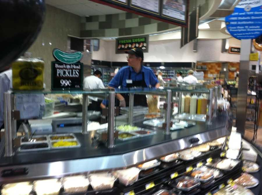 The new store boasts lots of fresh produce and prepared foods. <b>View More Images Here</b>