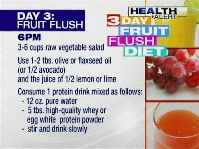 Jay robb fruit flush