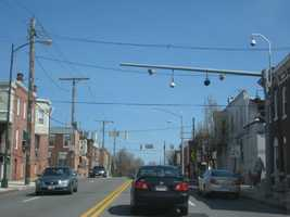 3) 17,536 speeding violations in the 2900 block of eastbound Orleans Street at Linwood Avenue.